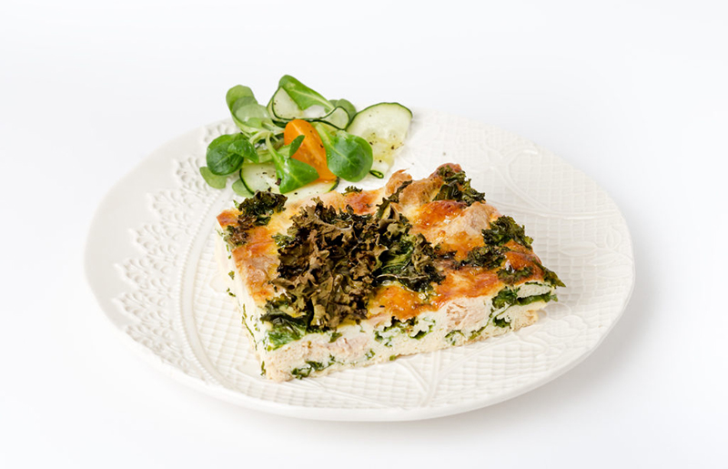 Frittata con Kale y Atún