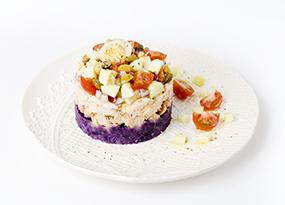Timbal de ensalada de verano
