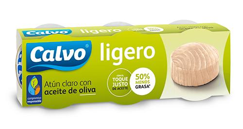 Atún claro Ligero con aceite de oliva