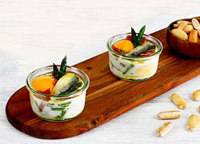 Tarritos de Huevo, Sardinillas y Jamón