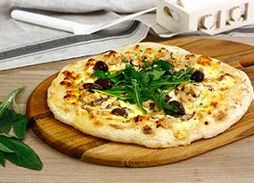 Pizza blanca de atún