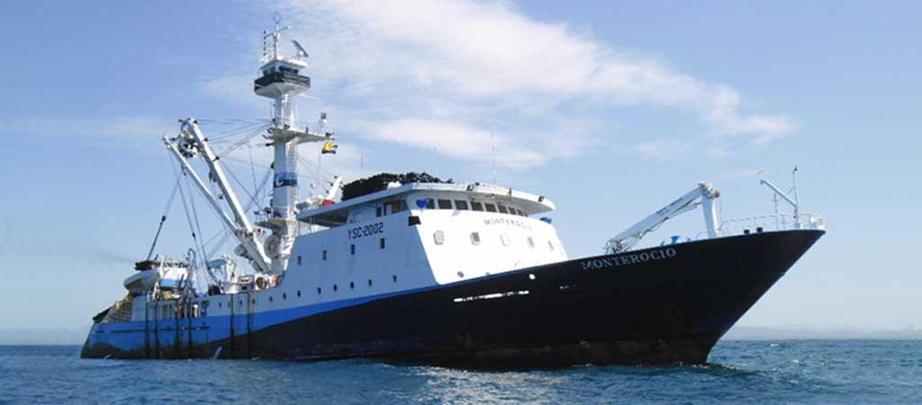 1977 Calvo cuenta con su propia flota de barcos