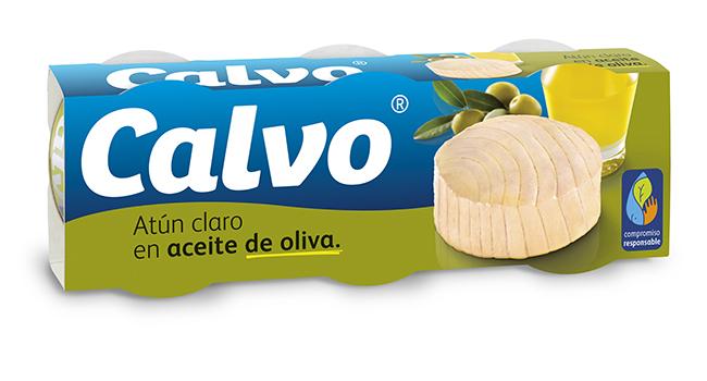 Atun Claro en aceite de oliva Calvo