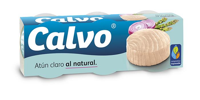 Atun claro natural Calvo