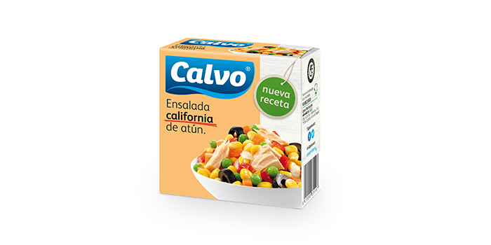 Ensalada California de atún Calvo