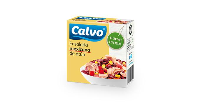 Ensalada mexicana de atún Calvo