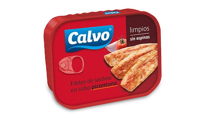Filetes de sardina Calvo en aceite de oliva