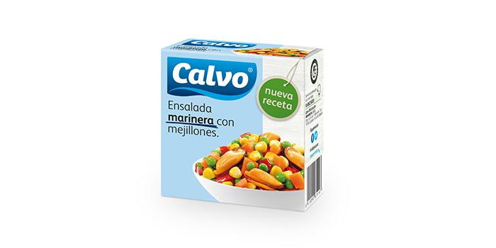 Ensalada marinera con mejillones Calvo