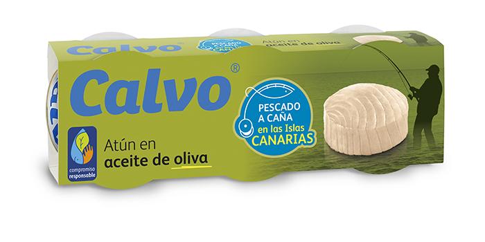 Atún Calvo en aceite de oliva pescado a caña en las Islas Canarias