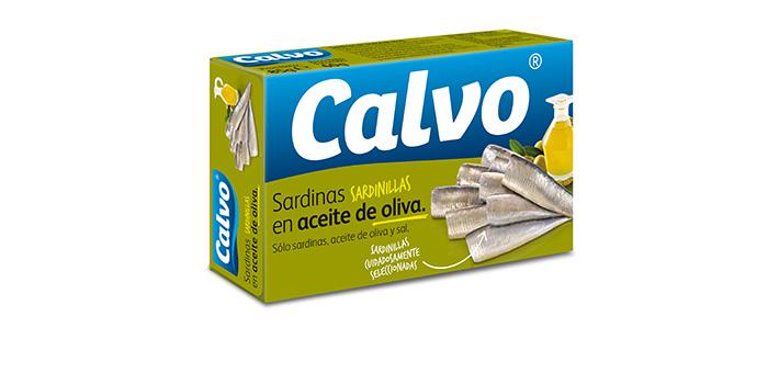 Sardinillas en aceite de oliva Calvo