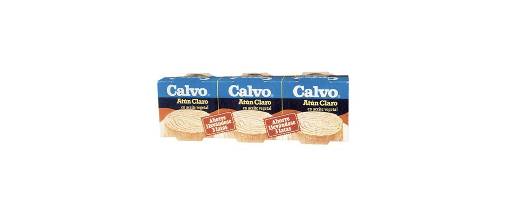 1978 Calvo inventa el pack de 3 latas