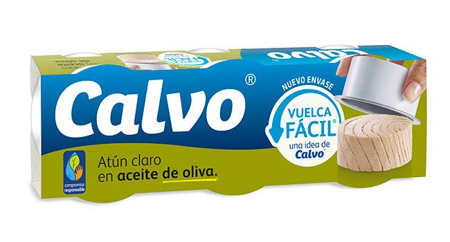 Atún claro en aceite de oliva Vuelca Fácil