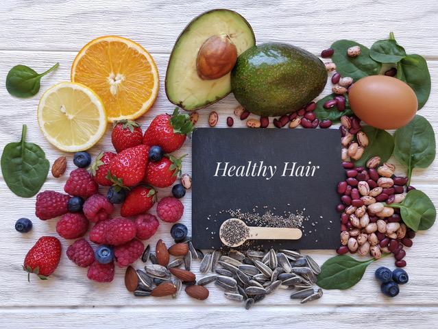 alimentos para tu pelo