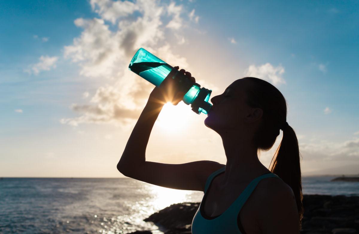 Hidratación Beber Agua